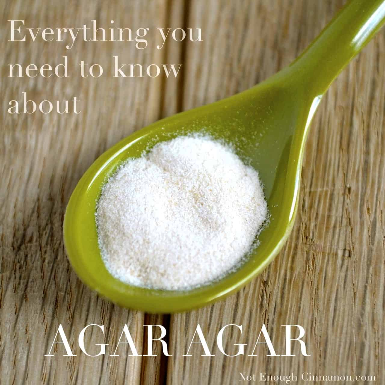 Everything you need to know about agar not enough cinnamon for Agar agar cuisine