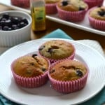 Blueberry-Banana Bread Muffins