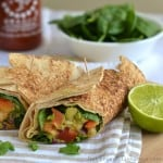 Shrimp Avocado Wrap
