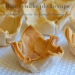 How to make phyllo cups