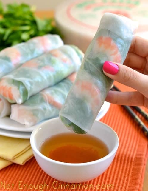 How to Make Vietnamese Fresh Spring Rolls - Step by Step Recipe