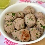 Creamy Coconut Meatballs {paleo friendly - gluten free}