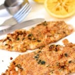 Almond-Crusted Chicken Schnitzel