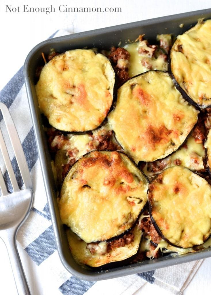 Skinny Eggplant Rollatini Recipe