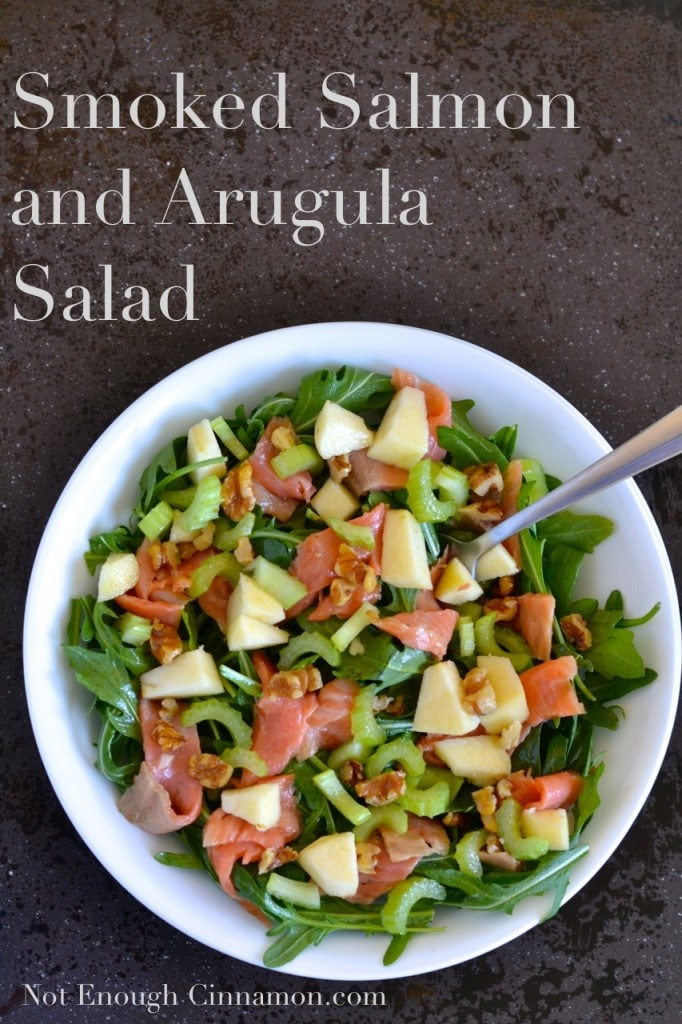 Smoked Salmon and Arugula Salad