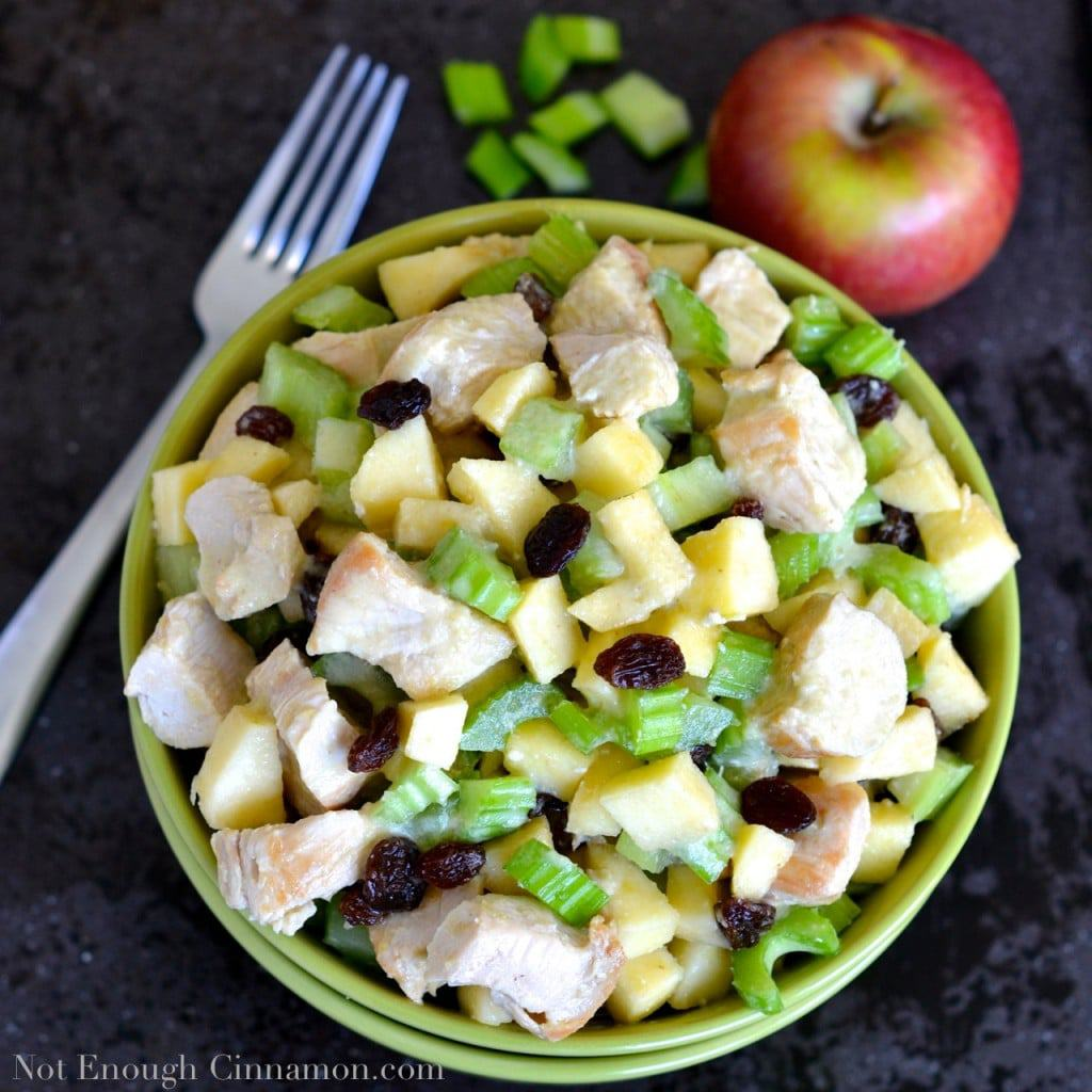 Apple and Celery Chicken Salad