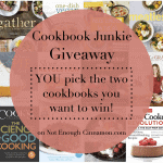 Cookbook Junkie Giveaway