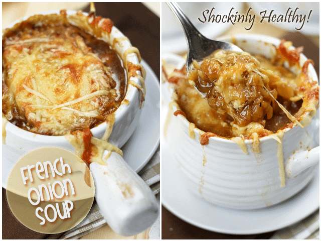 Healthy French Onion Soup - The Healthy Foodie