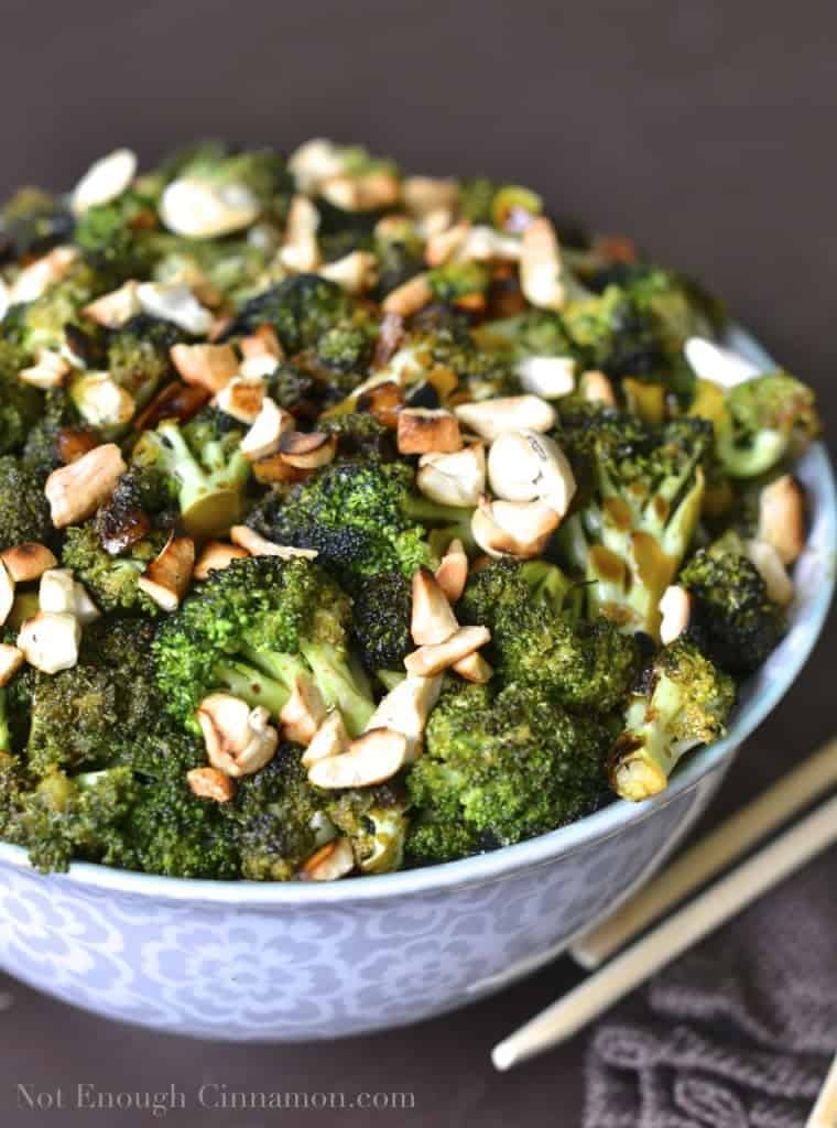 Pan-Roasted Cashew Broccoli