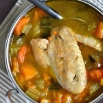 Sweet Potato Chicken Soup - Not Enough Cinnamon.com