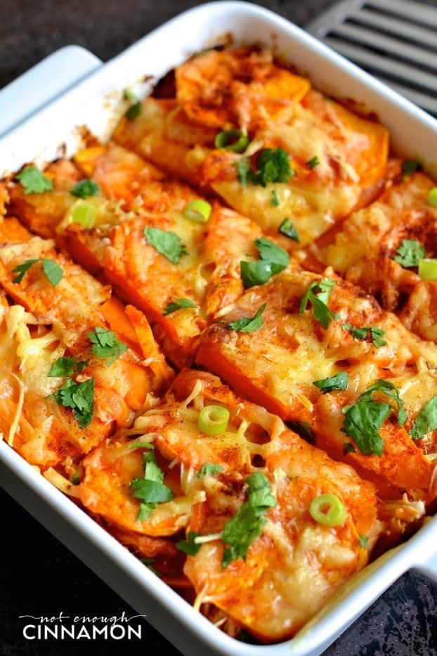 Mexican Sweet Potato And Chicken Casserole