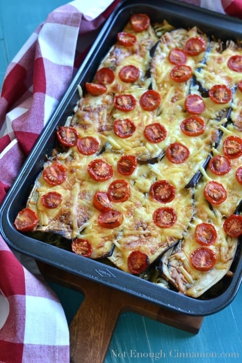 eggplant pasta casserole