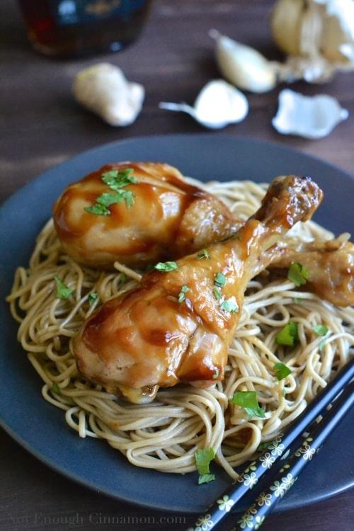 30-minute Homemade Teriyaki Chicken - Not Enough Cinnamon