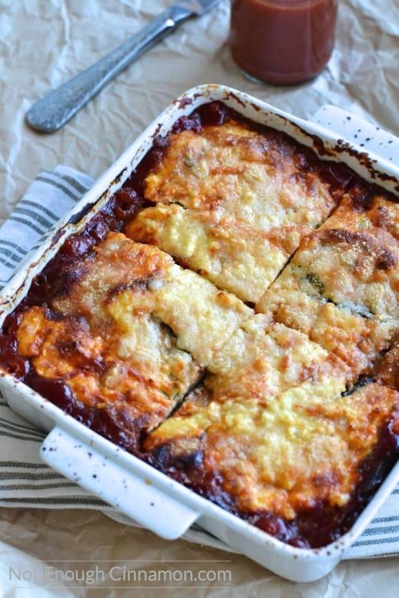 Eggplant Ricotta Casserole - Eggplant Ricotta Bake