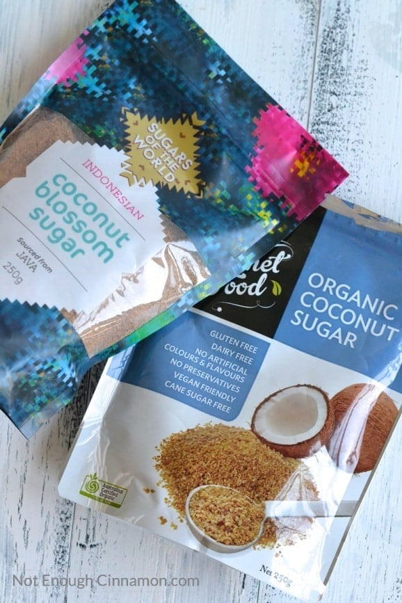 Everything you need to know about coconut sugar aka coconut crystals | NotEnoughCinnamon.com2