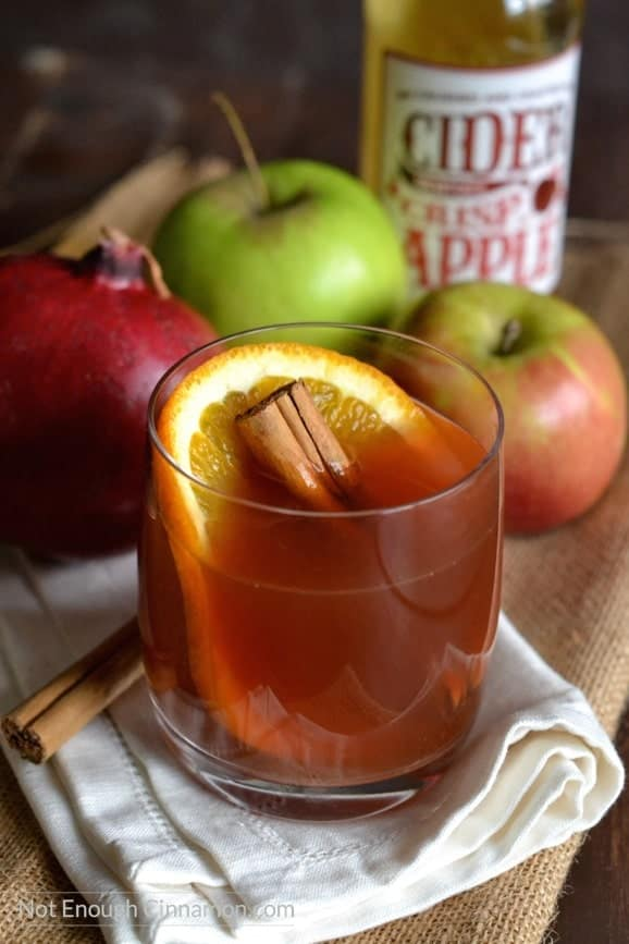 print spiced pomegranate apple cider 5 1 prep time 10