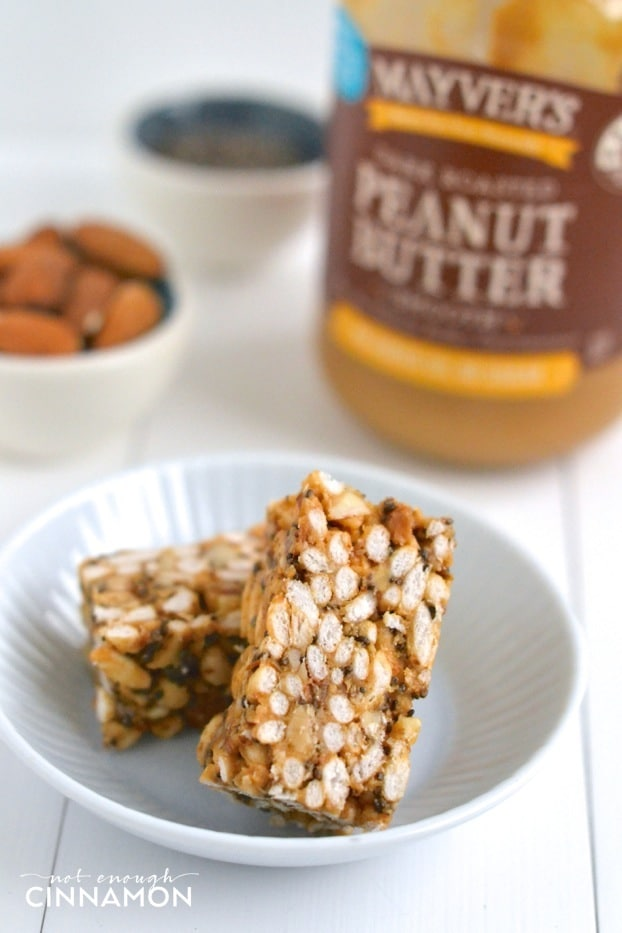 Clean eating peanut butter rice crispy treats not enough cinnamon